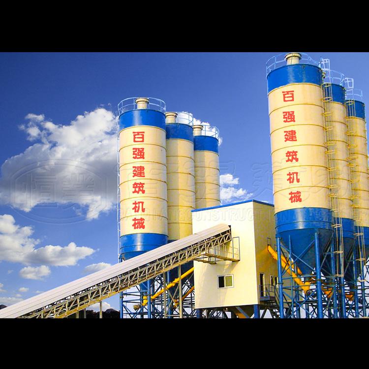 年产100万方以上的混凝土搅拌站价钱型号